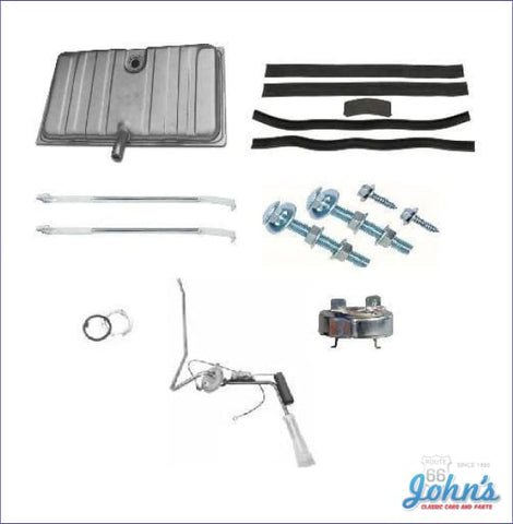 Gas Tank Kit With 3/8 Single Line Sending Unit. Gm Licensed Reproduction. (Os4) F1