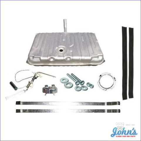 Gas Tank Kit Without Vents With 1 Line Sending Unit. Gm Licensed Reproduction. (Os7) A