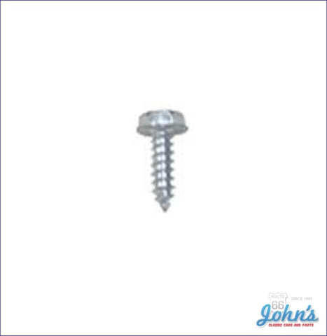 Gas Tank Sending Unit Ground Wire Mounting Screw 1Pc X A F2