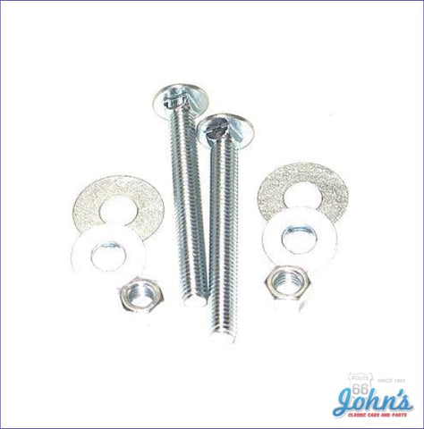 Gas Tank Strap Hardware Kit X A