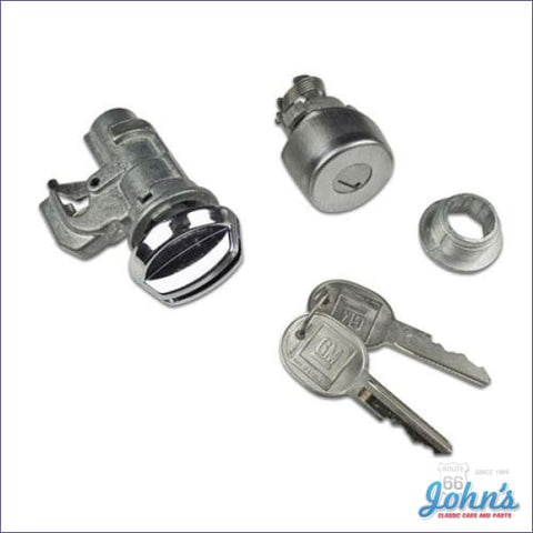 Glovebox And Trunk Lock Kit With Keys F2
