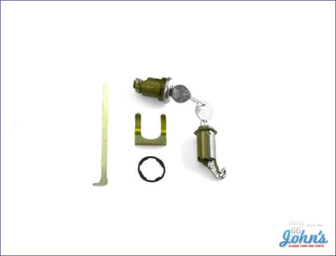 Glovebox And Trunk Lock Kit With Oe Style Keys A