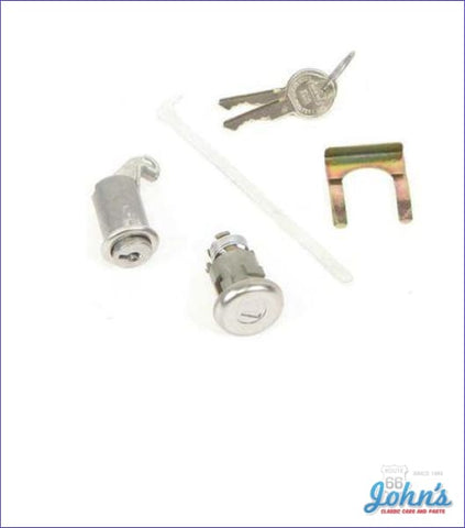 Glovebox And Trunk Lock Kit With Oe Style Keys X