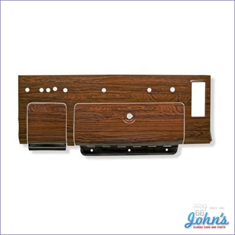 Glovebox Door And Ashtray Dash Trim Plates- Rosewood F1
