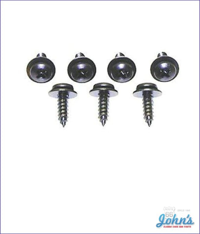 Glovebox Liner Screw Kit- 7Pc A X F1