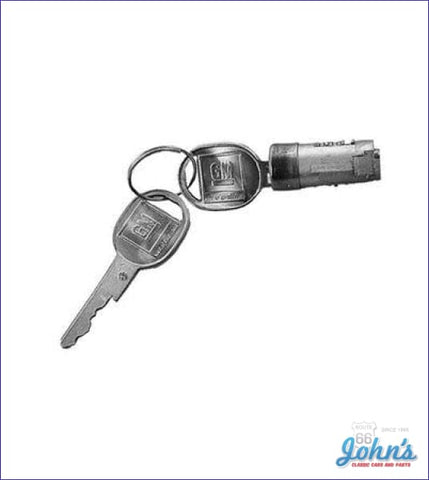 Glovebox Lock Kit With Late Style Keys (Cylinder And Keys Only) A