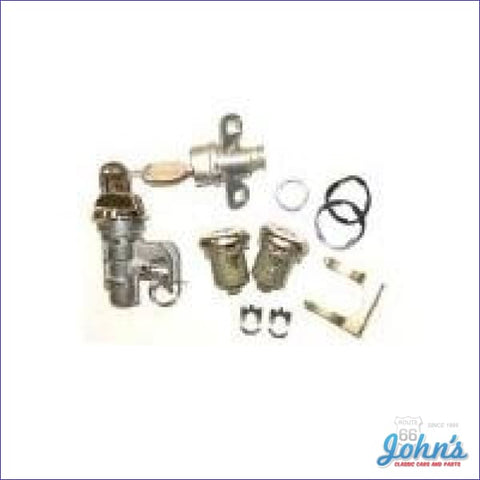 Glovebox Trunk And Door Lock Kit With Keys F2