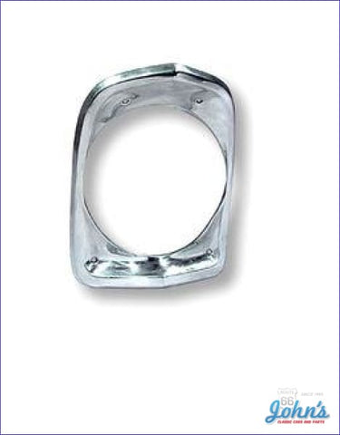 Headlight Bezel Gm Licensed Reproduction. Each X