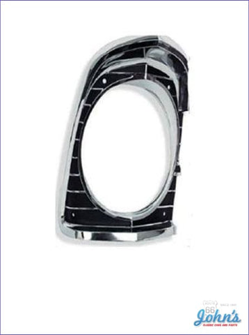 Headlight Bezel Rh Gm Licensed Reproduction X