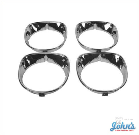 Headlight Bezels 4Pc Set A