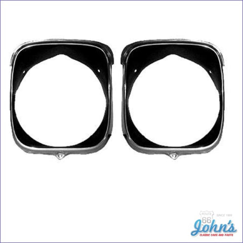 Headlight Bezels Lh- Pair A