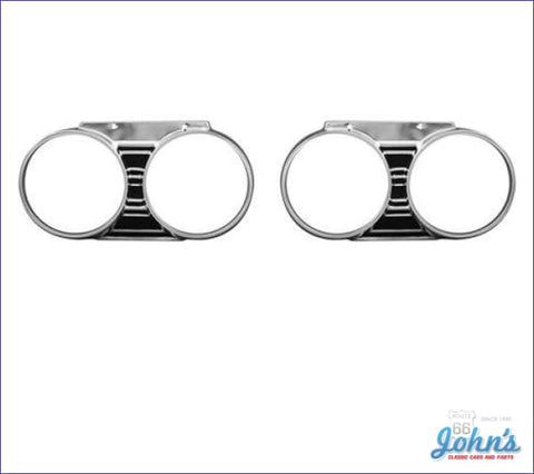 Headlight Bezels- Pair A