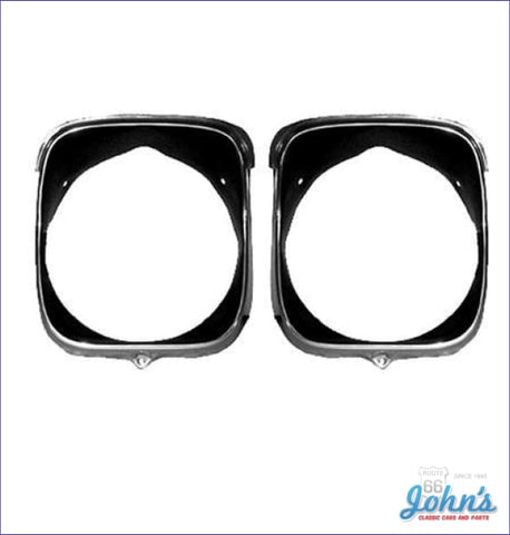 Headlight Bezels Rh- Pair A