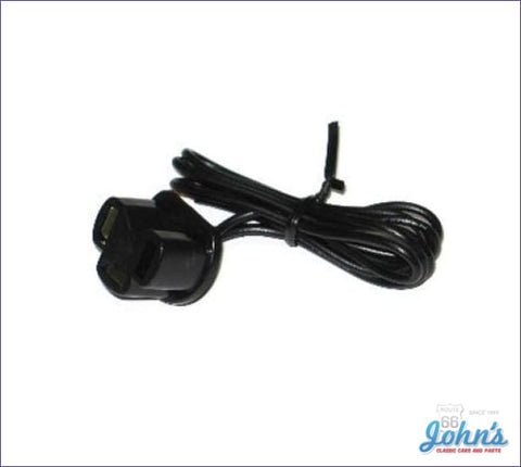 Headlight Pigtail Low Beam 3 Prongs A