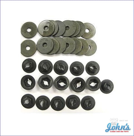 Hood Panel Hardware Kit 32 Piece A