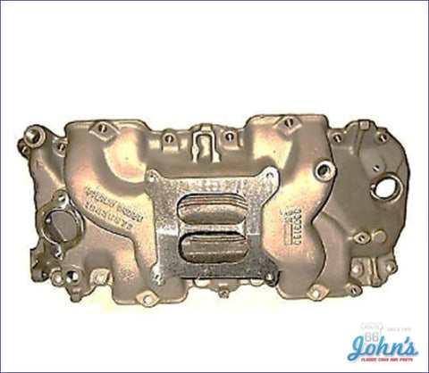 Intake Manifold 396/375Hp Or 427/425Hp Aluminum With Rectangular Port A F2 X F1