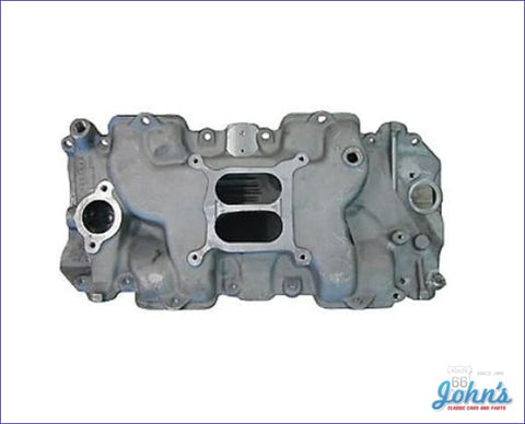 Intake Manifold Bb Ls6 454 Style Aluminum With Rectangular Port A X F2
