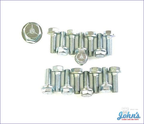 Intake Manifold Bolt Kit Bb With Aluminum A F2 X F1