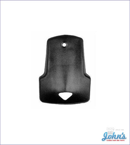 Interior Rearview Mirror Bracket Cover. A X