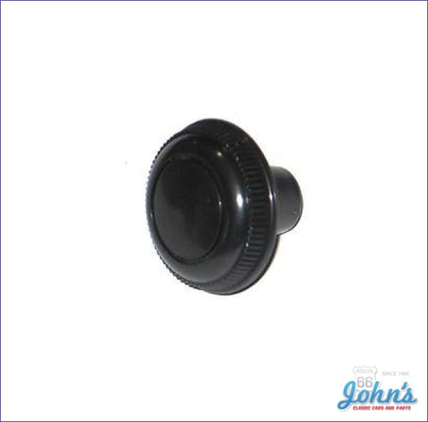 Kick Panel Vent Cable Knob Black- Each. X