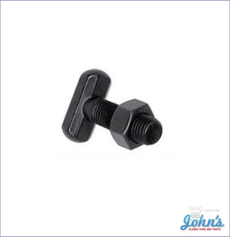 Leaf Spring Anchor Bolt With Nut Short Style 1-5/16. Each F2 X F1
