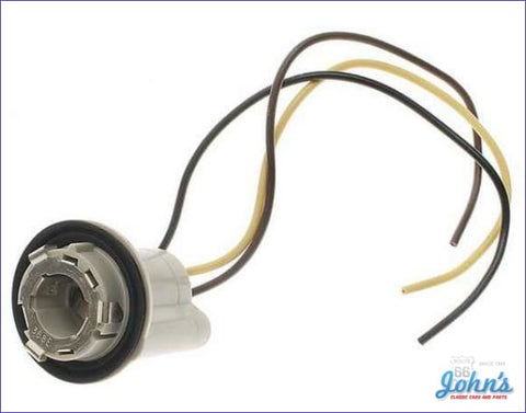 Light Socket 3 Wire For Brake Tail Turn Signal. Each F2 F1