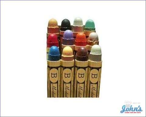 Marking Crayon Kit 12Pc A F2 X F1