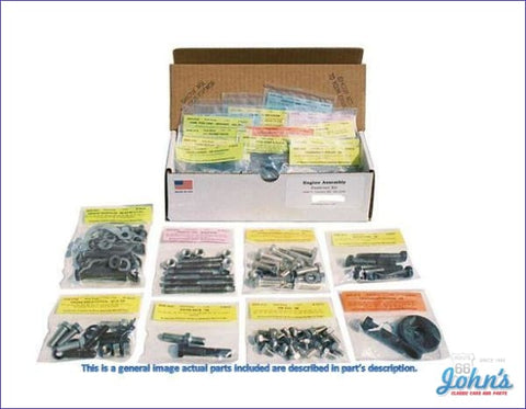 Master Body Hardware Kit. 389 Piece A
