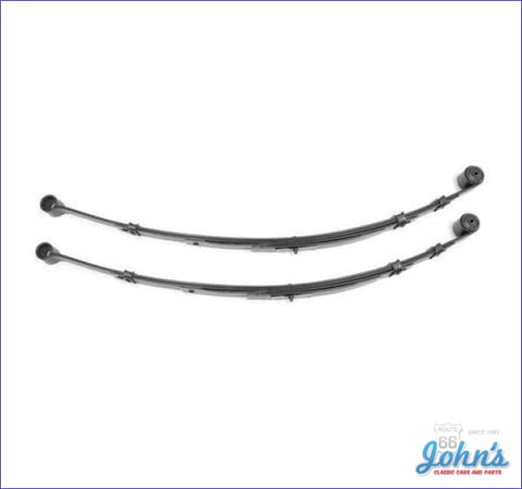Multi Leaf Springs 4 Leaf. Pair. Gm Licensed Reproduction. (Os2) F2 X F1