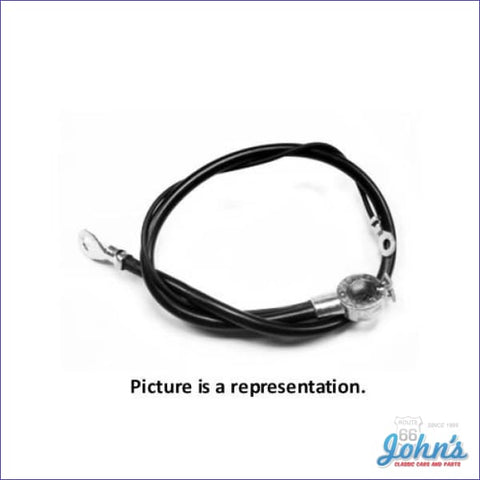Negative Battery Cable Spring Ring Style 396 A