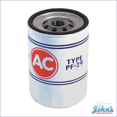 Oil Filter Spin On Style Pf29 Sb Or Bb A F2 X F1