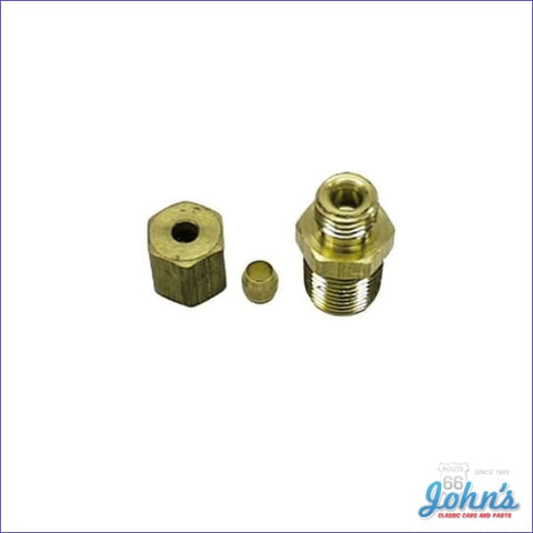 Oil Line Fitting Kit Short Style Big Block And Small X F1 F2 A