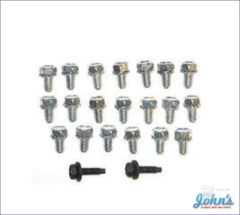 Oil Pan Bolt Kit Bb Correct Style A F2 X F1