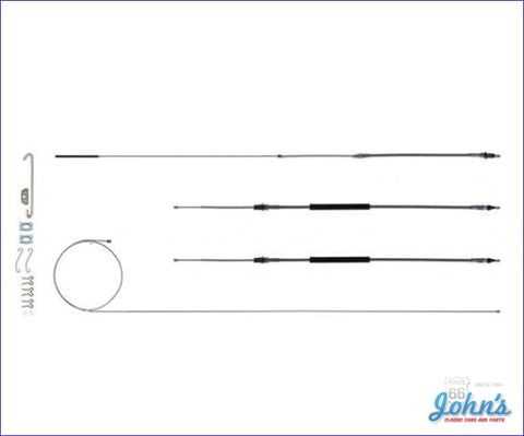 Park Brake Cable Kit For Th400- Stainless Steel A