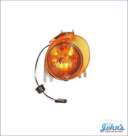 Park Lamp Assembly Fits Lh Or Rh- Each A