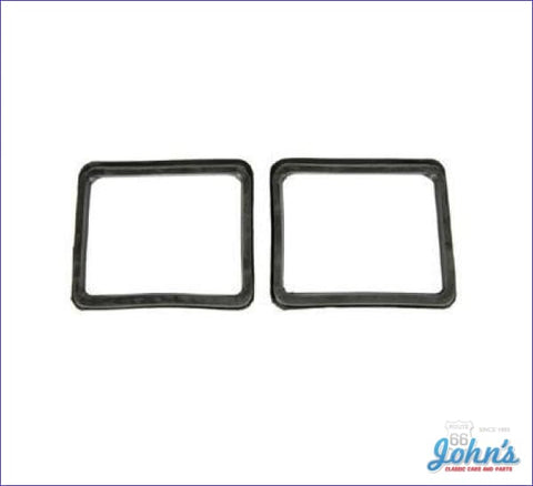 Park Lamp Housing To Valance Panel Gaskets- Rally Sport- Pair Gm Licensed Reproduction F1