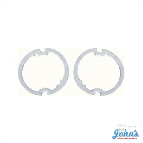 Park Lamp Lens Gaskets- Standard Camaro Pair Gm Licensed Reproduction F1