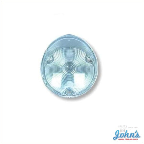 Park Lamp Lens- Rally Sport And Standard Each Gm Licensed Reproduction F1