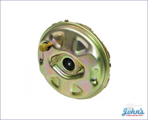 Power Brake Booster 9 Gold Anodized Non-Stamped A X F1