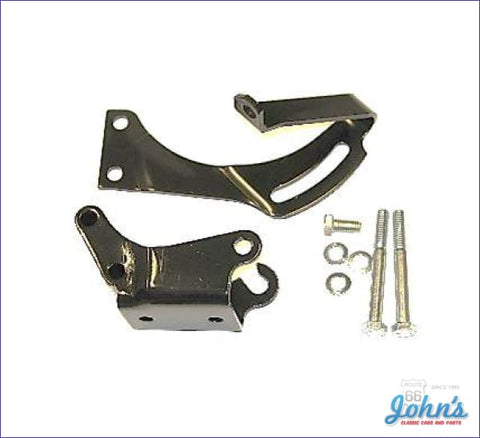 Power Steering Bracket Kit 302 350 With Short Water Pump 8 Balancer. F1