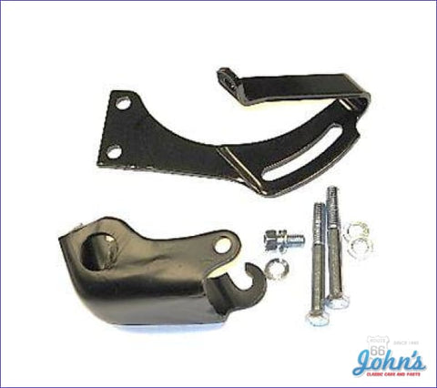 Power Steering Bracket Kit 302 350 With Short Water Pump Without 8 Balancer. F1