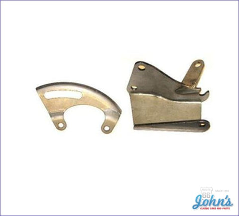 Power Steering Bracket Kit Bb With Long Water Pump. 2Pc A F2 X