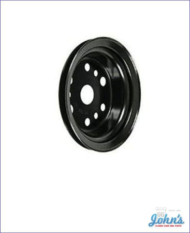 Power Steering Crank Pulley Sb With Short Wp. Used To Add Ps. Gm A X F1