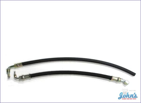 Power Steering Hose Kit With Sb Pressure And Return Assembly X