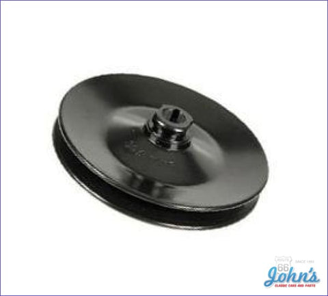 Power Steering Pump Pulley. Sb & Bb 1 Groove Deep Bolt On Style A F1