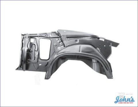 Quarter And Door Frame Assembly Convertible- Lh (Truck) A