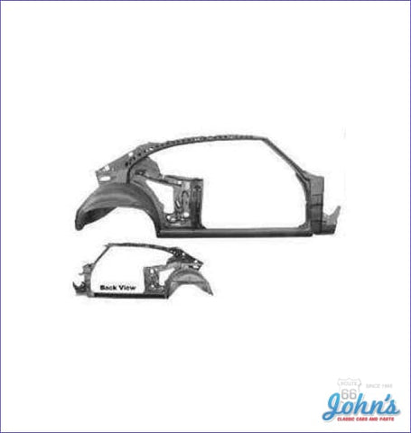 Quarter And Door Frame Assembly Coupe- Rh (Truck) A