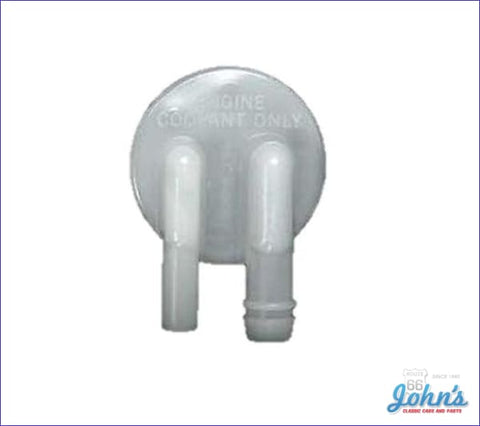 Radiator Overflow Tank Cap With 49L Gm Licensed Reproduction F2