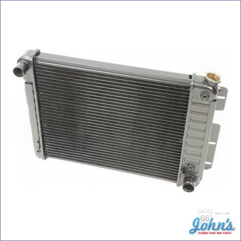 Radiator Small Block Automatic Transmission 3 Row Core Size 17 X 20-3/4 2 (Os1) F1