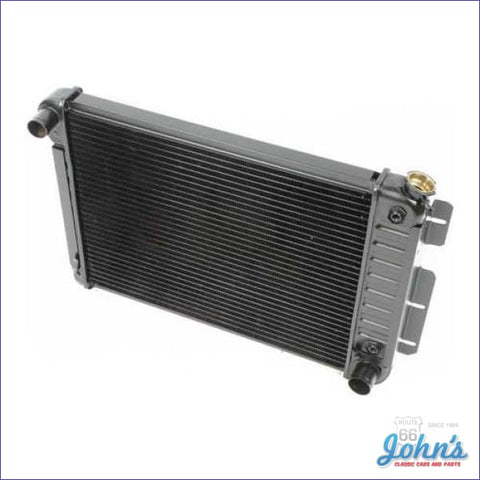 Radiator Small Block Automatic Transmission 3 Row Core Size 17 X 23 2 (Os1) F1